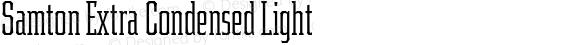 Samton Extra Condensed Light