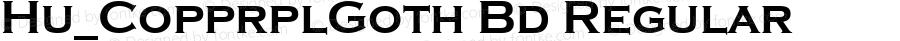 Hu_CopprplGoth Bd Regular 1.0, Rev. 1.65  1997.06.06
