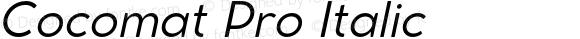 Cocomat Pro Italic