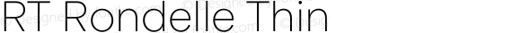 RT Rondelle Thin