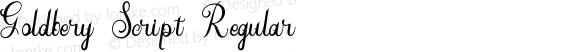 Goldbery Script Regular