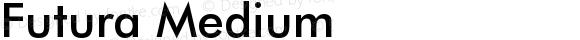 FuturaBT-Medium