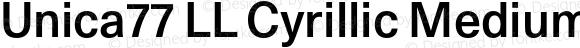 Unica77 LL Cyrillic Medium