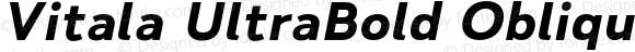 Vitala UltraBold Oblique