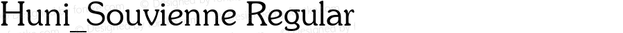 Huni_Souvienne Regular 1997.06.02