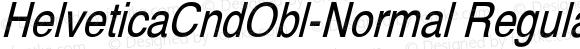 HelveticaCndObl-Normal