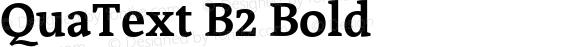 QuaText B2 Bold