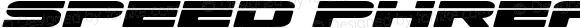 Speed Phreak Expanded SemiItal Expanded Semi-Italic
