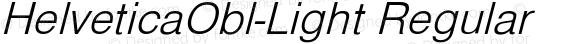 HelveticaObl-Light