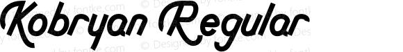Kobryan Regular