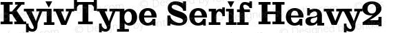 KyivType Serif Heavy2