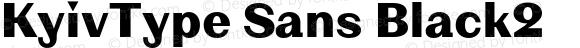 KyivType Sans Black2