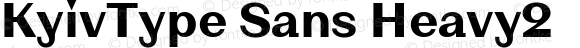 KyivType Sans Heavy2