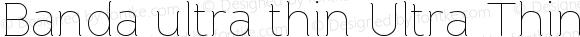 Banda ultra thin Ultra Thin