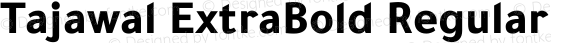 Tajawal ExtraBold Regular