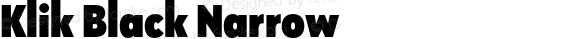 Klik Black Narrow