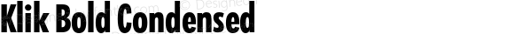 Klik Bold Condensed