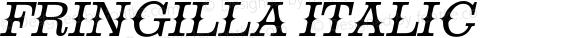 Fringilla Italic