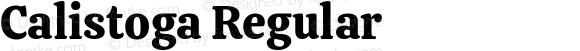 Calistoga Regular