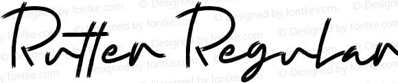 Rutter Regular