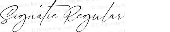Signatie Regular