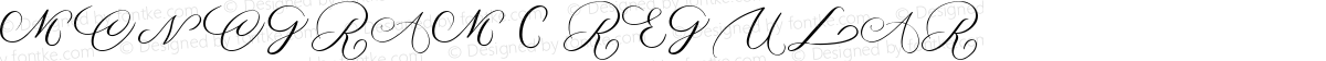 MONOGRAM C Regular