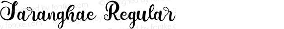 Saranghae Regular