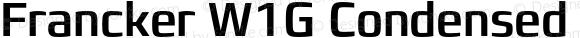 Francker W1G Condensed Medium