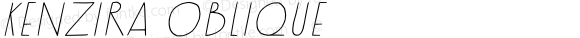 Kenzira Oblique