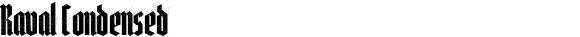 Raval Condensed