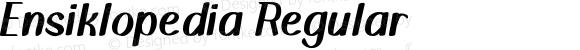 Ensiklopedia Regular
