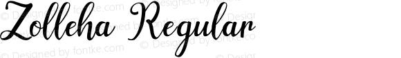 Zolleha Regular