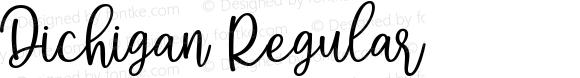 Dichigan Regular