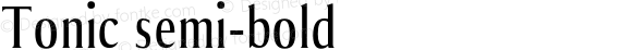 Tonic semi-bold