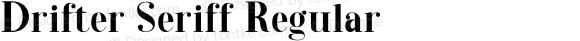 Drifter Seriff Regular