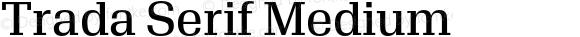 Trada Serif Medium