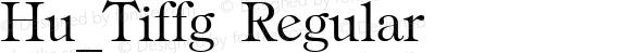 Hu_Tiffg Regular preview image