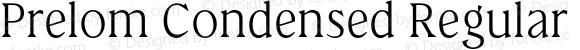 Prelom Condensed Regular