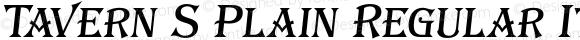 Tavern S Plain Regular Italic