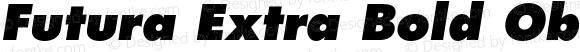 Futura-ExtraBoldOblique