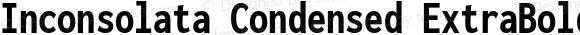 Inconsolata Condensed ExtraBold