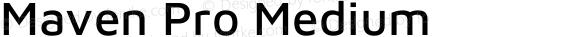Maven Pro Medium