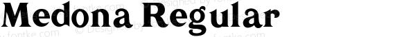 Medona Regular