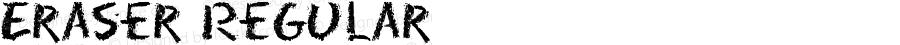 Eraser Regular Macromedia Fontographer 4.1 8/16/95