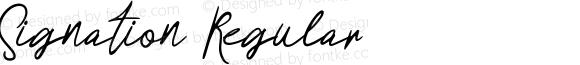 Signation Regular
