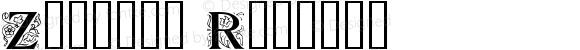 Zallman Regular Macromedia Fontographer 4.1 8/16/95