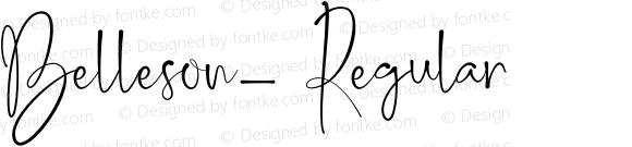 Belleson_ Regular