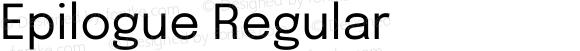 Epilogue Regular