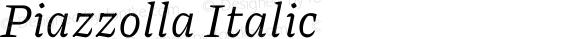 Piazzolla Italic