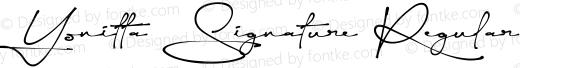 Yonitta Signature